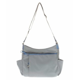 MK MICHEL KLEIN BAG 【撥水】ナイロンショルダーバッグ ショルダーバッグ,ライトブルー