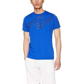 [デサント] サンスクリーン Tシャツ 吸汗速乾 UVカット(UPF30) ストレッチ サンスクリーンTシャツ BL 日本 S (日本サイズS相当)