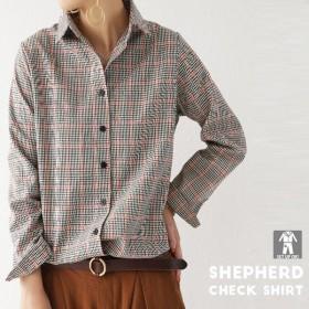 トップス シャツ 長袖 レディース チェック柄 羽織り チェック柄シャツ・(100)メール便可