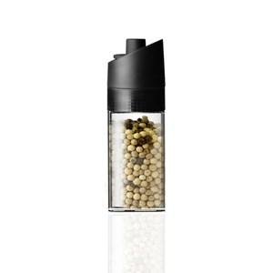 MIX可調式胡椒研磨瓶100ml-極簡黑(PENNE)
