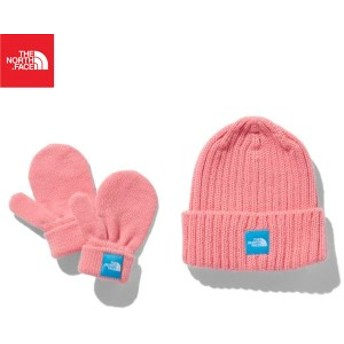 【ノースフェイス】THE NORTH FACE Baby Cappucho Lid & Mitt Set NNB41902-BM ベビー ギフト 19FW tnfak