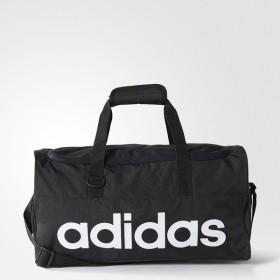 adidas(アディダス)スポーツアクセサリー ボストンバッグ リニアチームバッグ S BFP13 AJ9927 S ブラック/ブラック/ホワイト