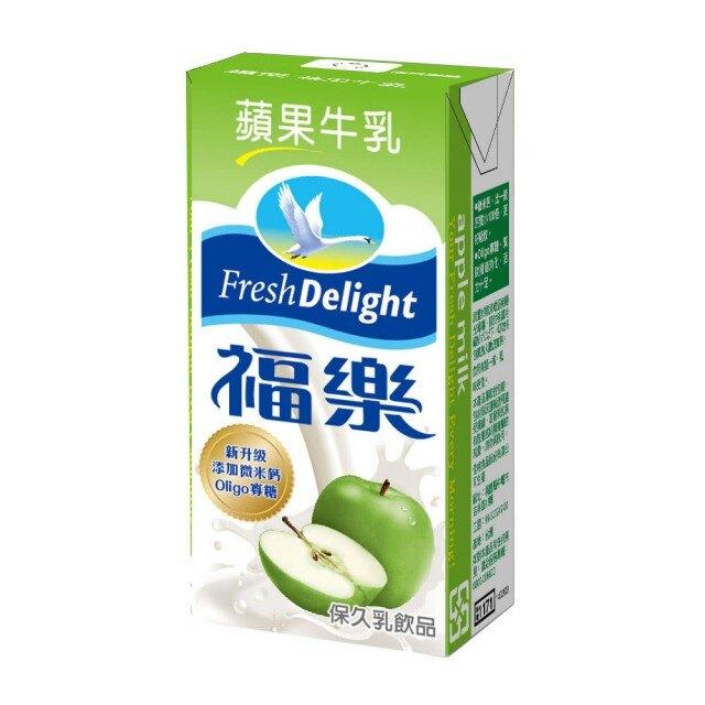 【福樂】蘋果保久乳 *24包/箱