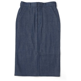 【SALE(三越)】<ハイク/HYKE> DENIM BAKER SKIRT(14033) 79PALE BLU 【三越・伊勢丹/公式】