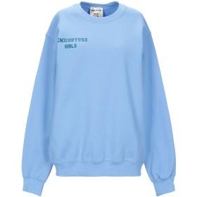 《セール開催中》SEMICOUTURE レディース スウェットシャツ アジュールブルー XS コットン 50% / ポリエステル 50%