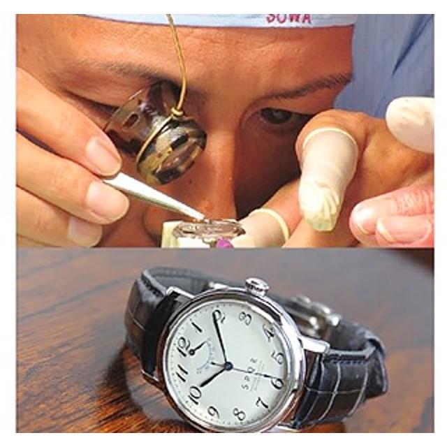 < 腕時計 > SPQR 機械式時計 組立体験B