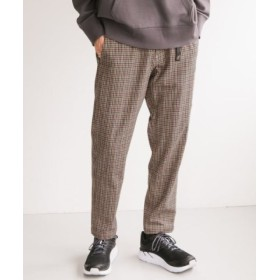 (URBAN RESEARCH/アーバンリサーチ)Gramicci×URBAN RESEARCH 別注WASHABLE WOOLLY PANTS/メンズ CHECK