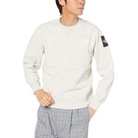 [ザ・ノース・フェイス] カットソー スクエアロゴクルー メンズ オートミール 日本 XL (日本サイズXL相当)
