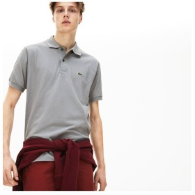 ラコステ 『L.12.12』定番半袖ポロシャツ メンズ シルバーグレー 4(日本サイズL) 【LACOSTE】