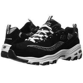 [スケッチャーズ] レディーススニーカー・靴・シューズ D'Lites - Me Time Black/White 1 (26cm) B - Medium [並行輸入品]
