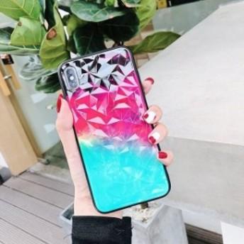 Heyytleダイヤモンドテクスチャグラデーションケースのためのiphone 8 7 plus 3 For iPhone 6 6S