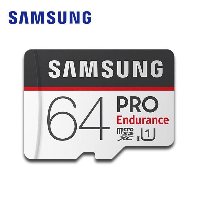 SAMSUNG 三星 PRO Endurance microSDXC UHS-1 Class10 64GB 高耐用記憶卡