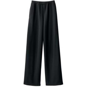 起毛カットソーワイドパンツ(オトナスマイル) (大きいサイズレディース)パンツ,plus size