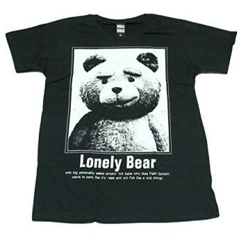 テッド 映画 くまさん ぬいぐるみ ロンリーベアーストリート系 デザインTシャツ おもしろTシャツ メンズTシャツ 半袖 [並行輸入品]