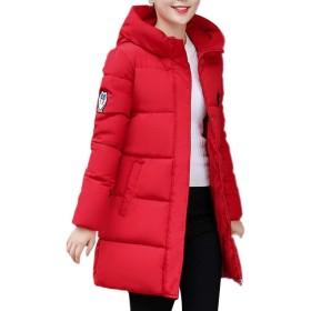 AGAING レディースパーカパッケージダウンジャケット Red L