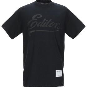 《期間限定セール開催中!》THE EDITOR メンズ T シャツ ブラック S コットン 100%