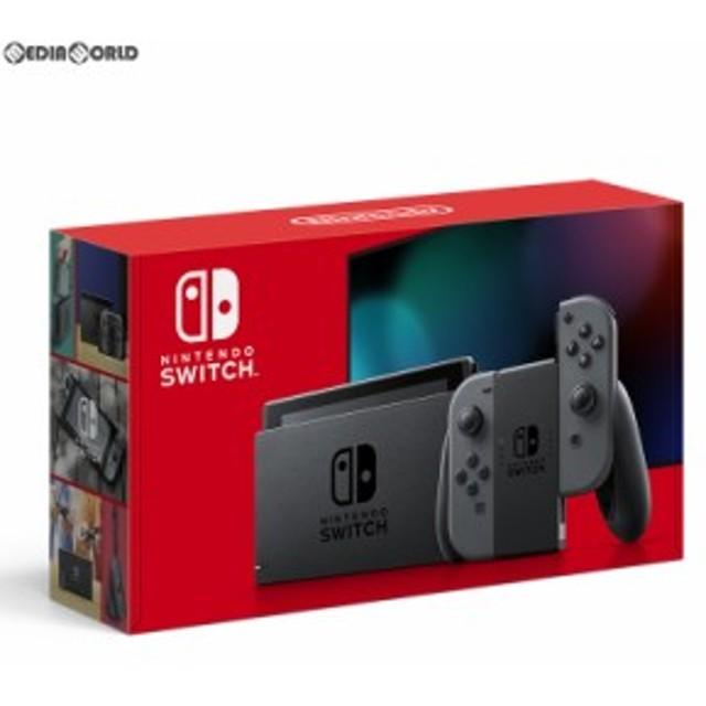 【新品即納】[本体][Switch]Nintendo Switch(ニンテンドースイッチ) Joy-Con(L)/(R) グレー(HAD-S-KAAAA)(20190830)