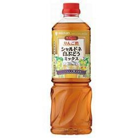 【送料無料】ミツカン ビネグイット りんご酢シャルドネ白ぶどうミックス(6倍濃縮タイプ) 1000mlPET×8本入