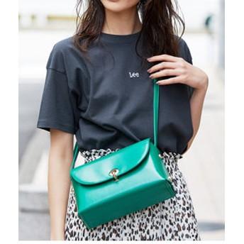 【ViS:バッグ】アイレットサイドリベットショルダーバッグ