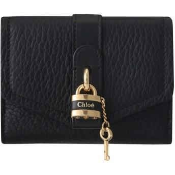 Chloe クロエ ABY 3つ折り財布 ブラック