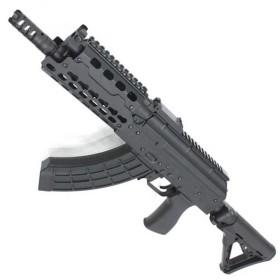 【1本限定特価!】CM076A AKS74U Tactical Custom フルメタル電動ガン【180日間安心保証つき】