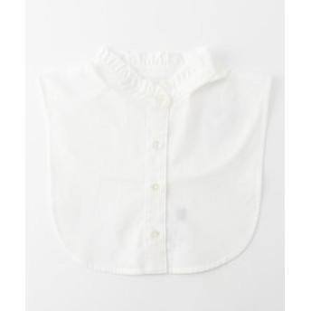 【J.PRESS LADIES:ファッション雑貨】【洗える】ハイネックフリルデコカラー 付け襟