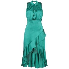 《期間限定セール開催中!》RELISH レディース ミニワンピース&ドレス エメラルドグリーン XS ポリエステル 98% / ポリウレタン 2%