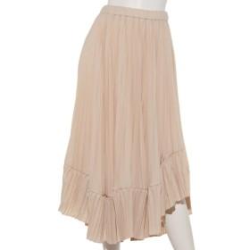 75%OFF Sugar Rose (シュガーローズ) ランダムプリーツスカート オフホワイト