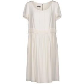 《セール開催中》EMPORIO ARMANI レディース ミニワンピース&ドレス ホワイト 40 シルク 100%