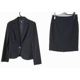 ビッキー VICKY スカートスーツ サイズ1 S レディース 黒【中古】20190827