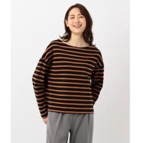 [マルイ] 【洗える】コットンボーダーワイドロング Tシャツ/シェアパーク レディス(SHARE PARK LADIES)