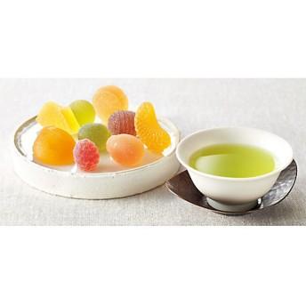【送料無料】 【671853】〈彩果の宝石〉〈愛国製茶〉静岡煎茶・紅茶・珈琲詰合せ 【三越・伊勢丹/公式】