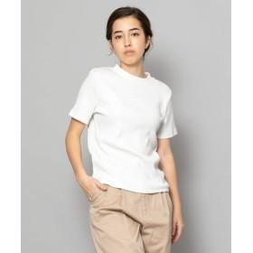 [センスオブプレイス] tシャツ リブクルーネックTシャツ(半袖) レディース WHITE FREE