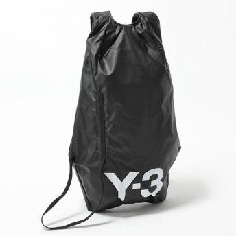 Y-3 ワイスリー adidas アディダス YOHJI YAMAMOTO DY0517 コラボ バックパック リュック ナイロン バッグ BLACK/WHITE メンズ【訳有】