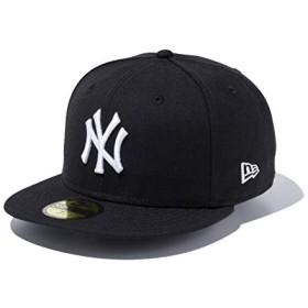 ニューエラ(NEWERA) 59FIFTY MLB CUSTOM ニューヨーク・ヤンキース ブラック/スノーホワイト 7 1/2 (59.6cm) 11308564