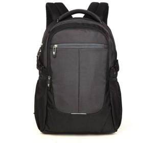 特別価格バックパック大容量男性のビジネス旅行レジャーバックパックコンピューターバッグ学生バッグ@ gray_33  19  47cm
