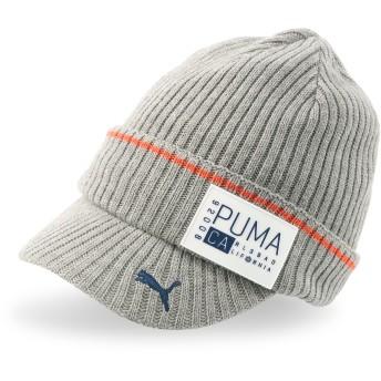 【プーマ公式通販】 プーマ ゴルフ CA ブリム ビーニー メンズ Medium Gray Heather  PUMA.com