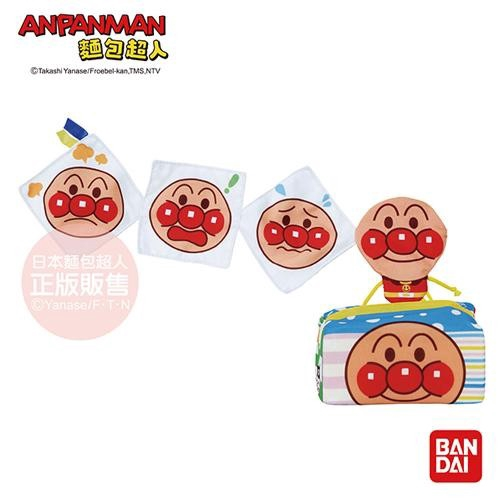 ANPANMAN 麵包超人 越抽越多麵包超人嬰兒面紙盒玩具