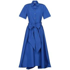 《期間限定セール開催中!》P.A.R.O.S.H. レディース 7分丈ワンピース・ドレス ブルー XS ポリエステル 100%
