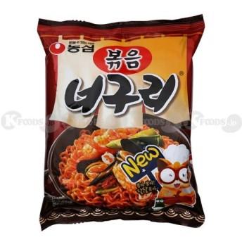 農心ポックム ノグリラーメン (炒め麺/137g) 4個パック 韓国産 [並行輸入品]