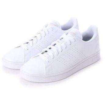 アディダス adidas ADVANCOURT BASE EE7692-23.0フットウェアホワイト (WHITE)