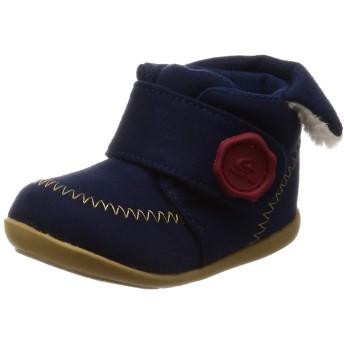 [ムーンスター] ベビーシューズ ブーツ マジック 12-16cm(0.5cm有) 2E ベビー MS B104 ネイビー 12.5 cm
