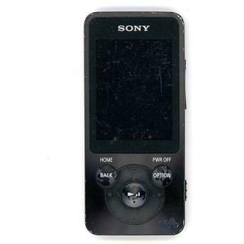 【中古】SONYウォークマン Sシリーズ NW-S14 ブラック/8GB 本体いたみ