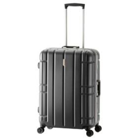(Bag & Luggage SELECTION/カバンのセレクション)アジアラゲージ スーツケース Lサイズ フレーム アリマックス 大容量 大型 軽量 AliMaxG 74L MF-5016/ユニセックス ブラック
