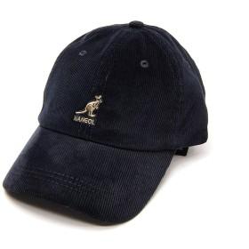 [KANGOL(カンゴール)] コーデュロイキャップ CORD BASEBALL(ブラック)