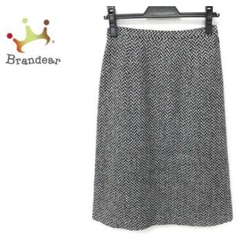 ギャラリービスコンティ GALLERYVISCONTI スカート サイズ2 M レディース 美品 黒×白×グレー 新着 20190830