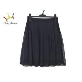 ユキトリイ YUKITORII スカート サイズ38 M レディース 美品 黒 レース 新着 20190830