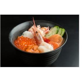 網走番外地食堂人気の究極海鮮丼セット 【北海道センタービレッジ】