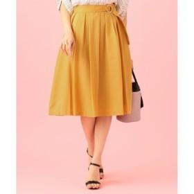 【エニィスィス/any SiS】 【洗える】スプリングタックフレア スカート