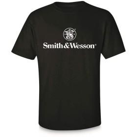 スミス&ウェッソン Tシャツ 半袖 Basic Logo ブラック XXLサイズ